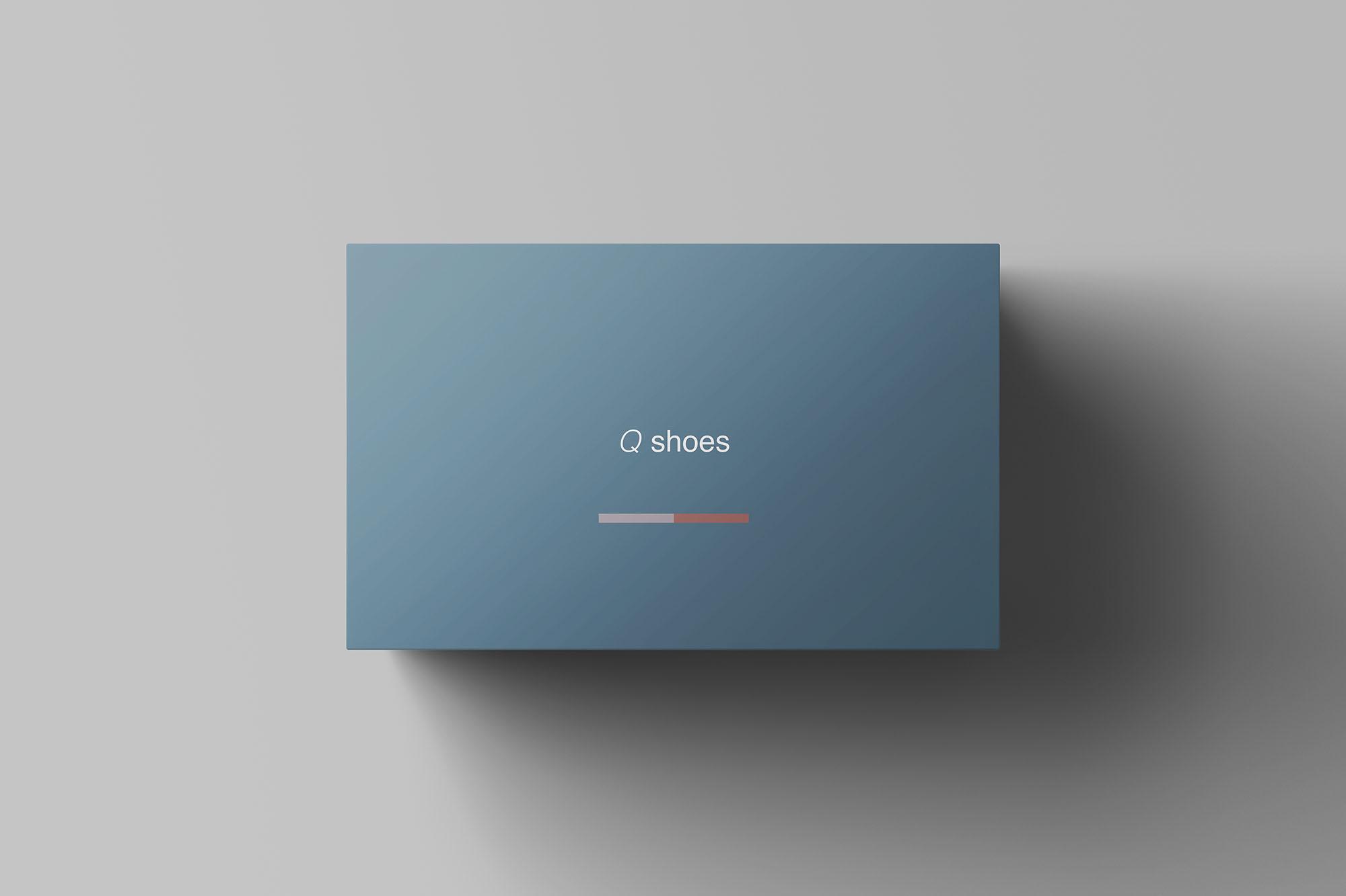 Shoe Box Mockup 3