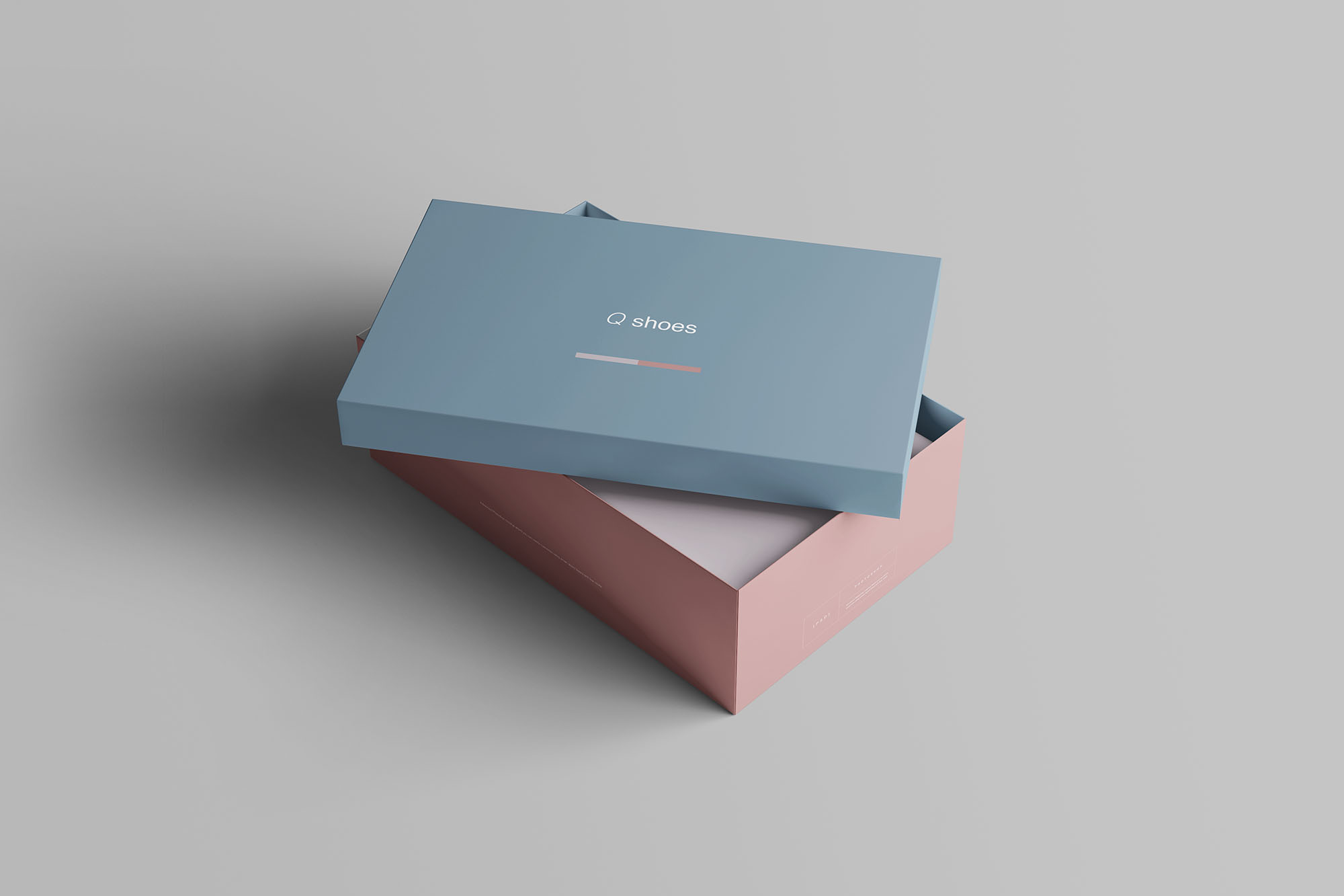 Shoe Box Mockup 4