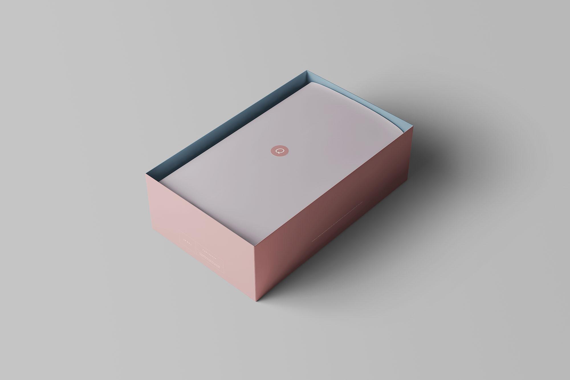 Shoe Box Mockup 5