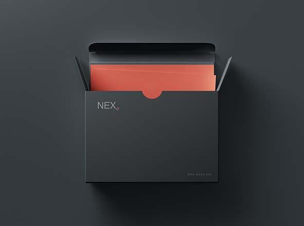 Card Box Mockup