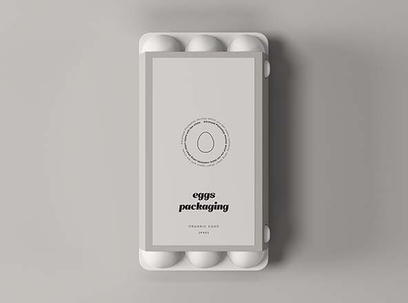 Egg Packaging Mockup