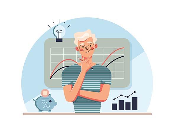 Business Analytics Illustration