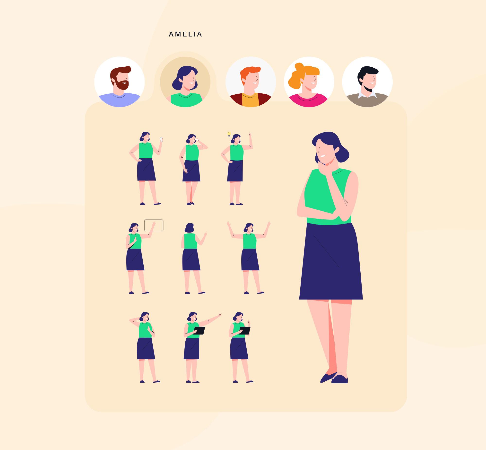 Modular Illustration Kit 4