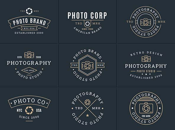 Photography Vector Badges