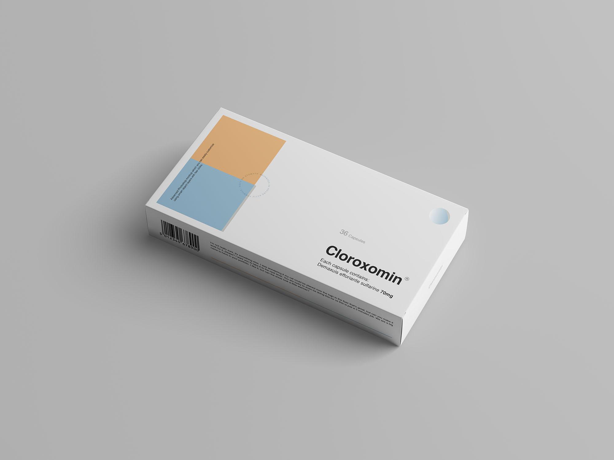 Pills Box Mockup 2