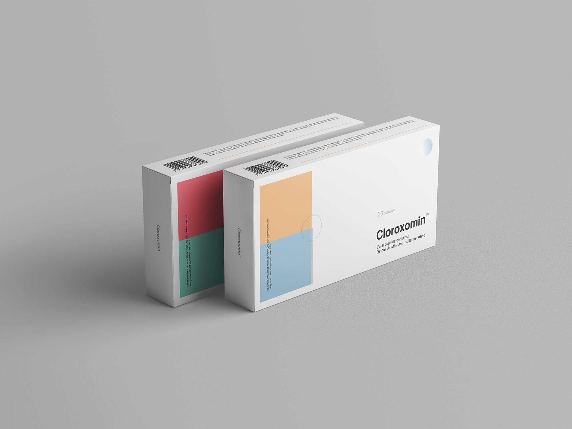 Pills Box Mockup 3
