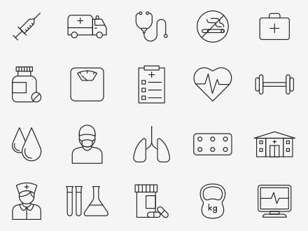 Health Vector Icons