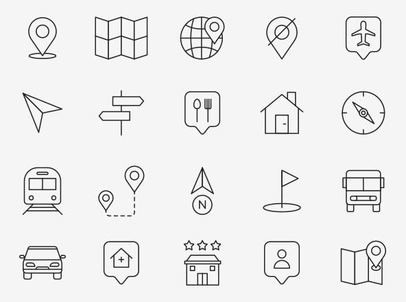 ap Navigation Vector Icons