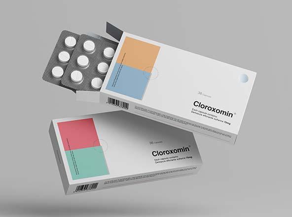 Pills Box Mockup