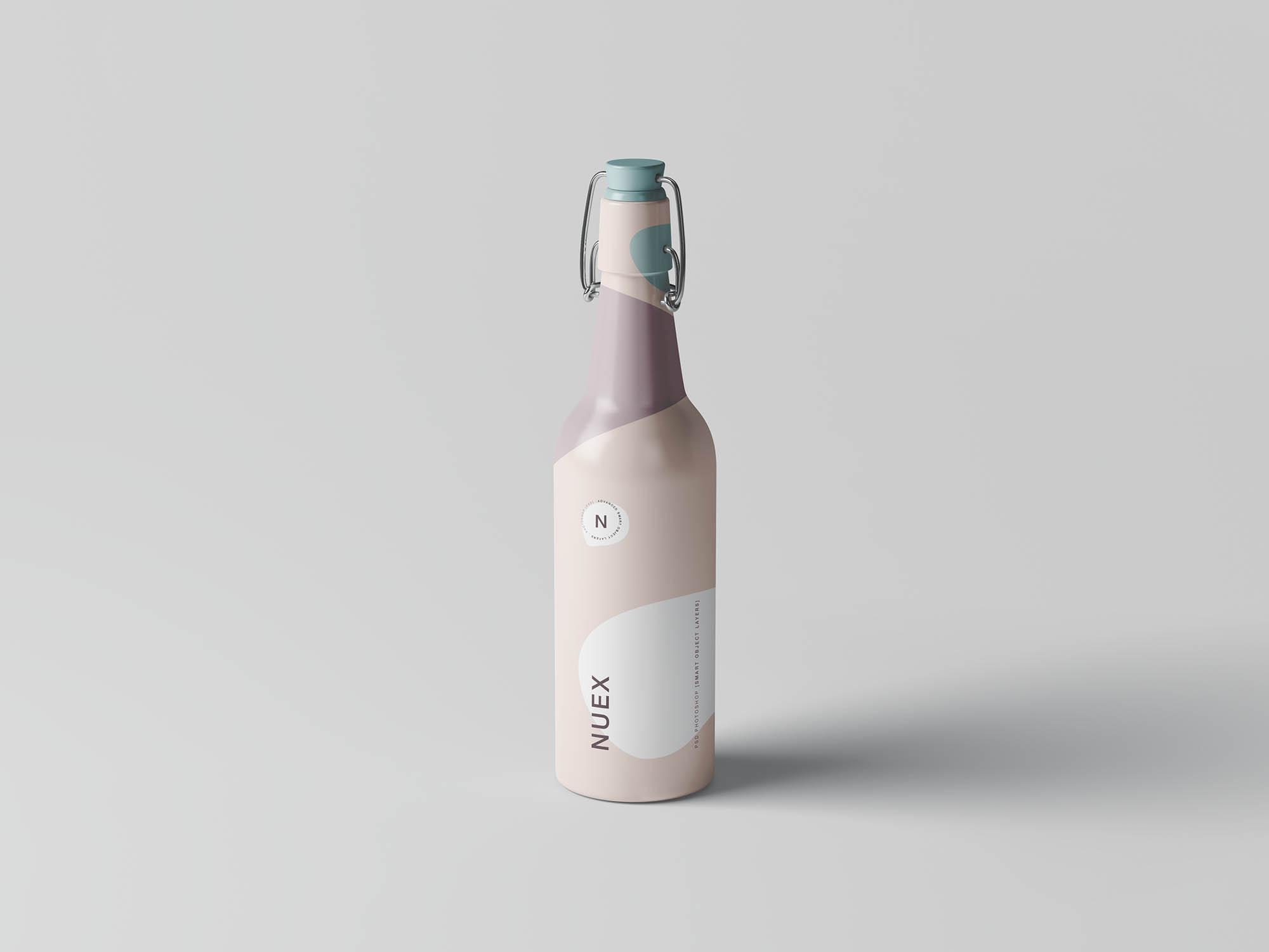 Matt Bottles Mockup 1