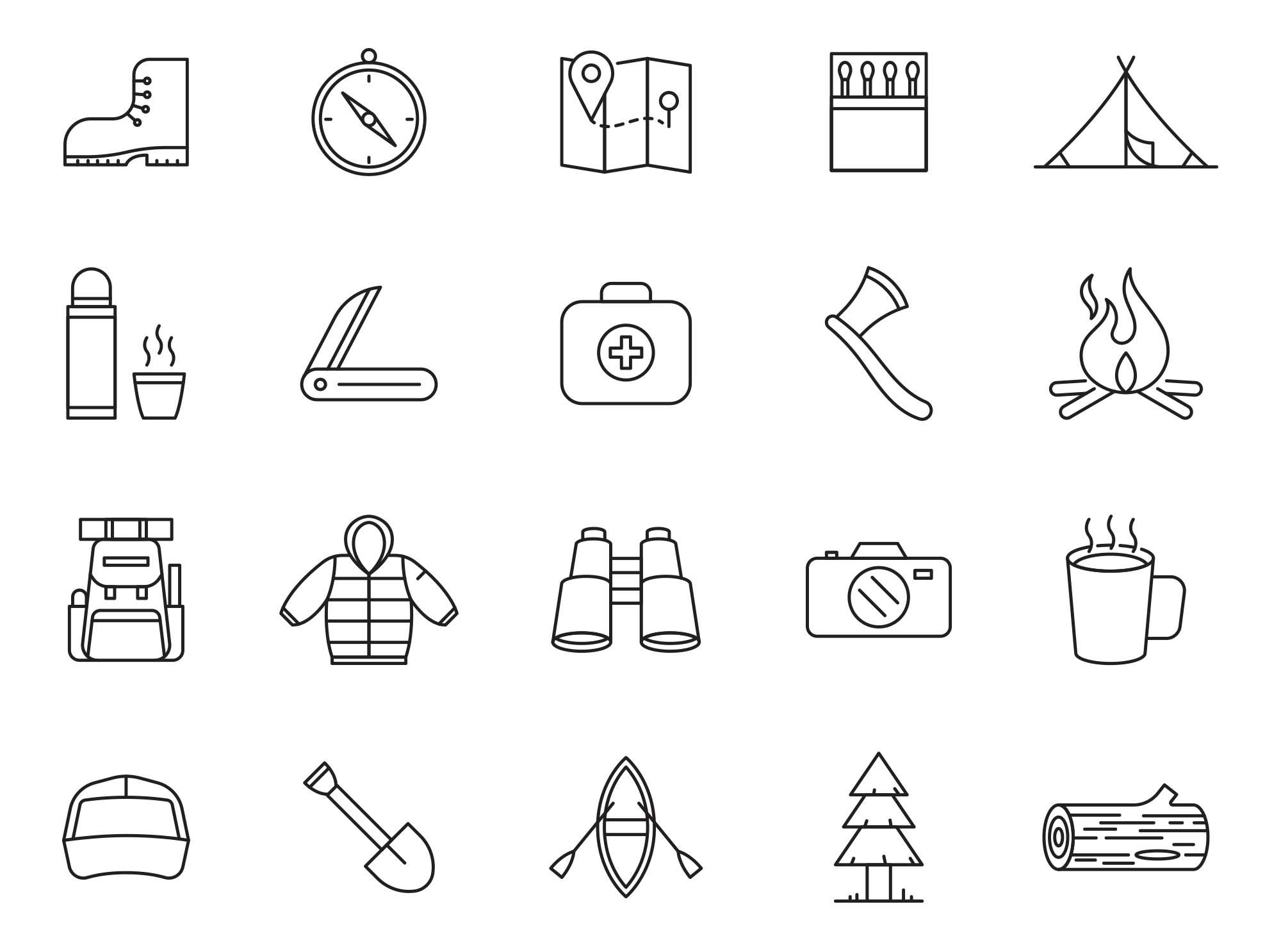 Adventure Vector Icons