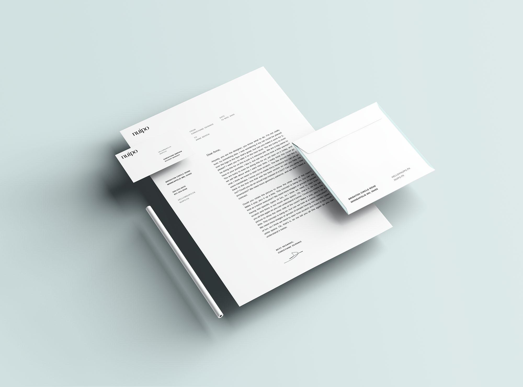 Branding Presentation Mockup 4