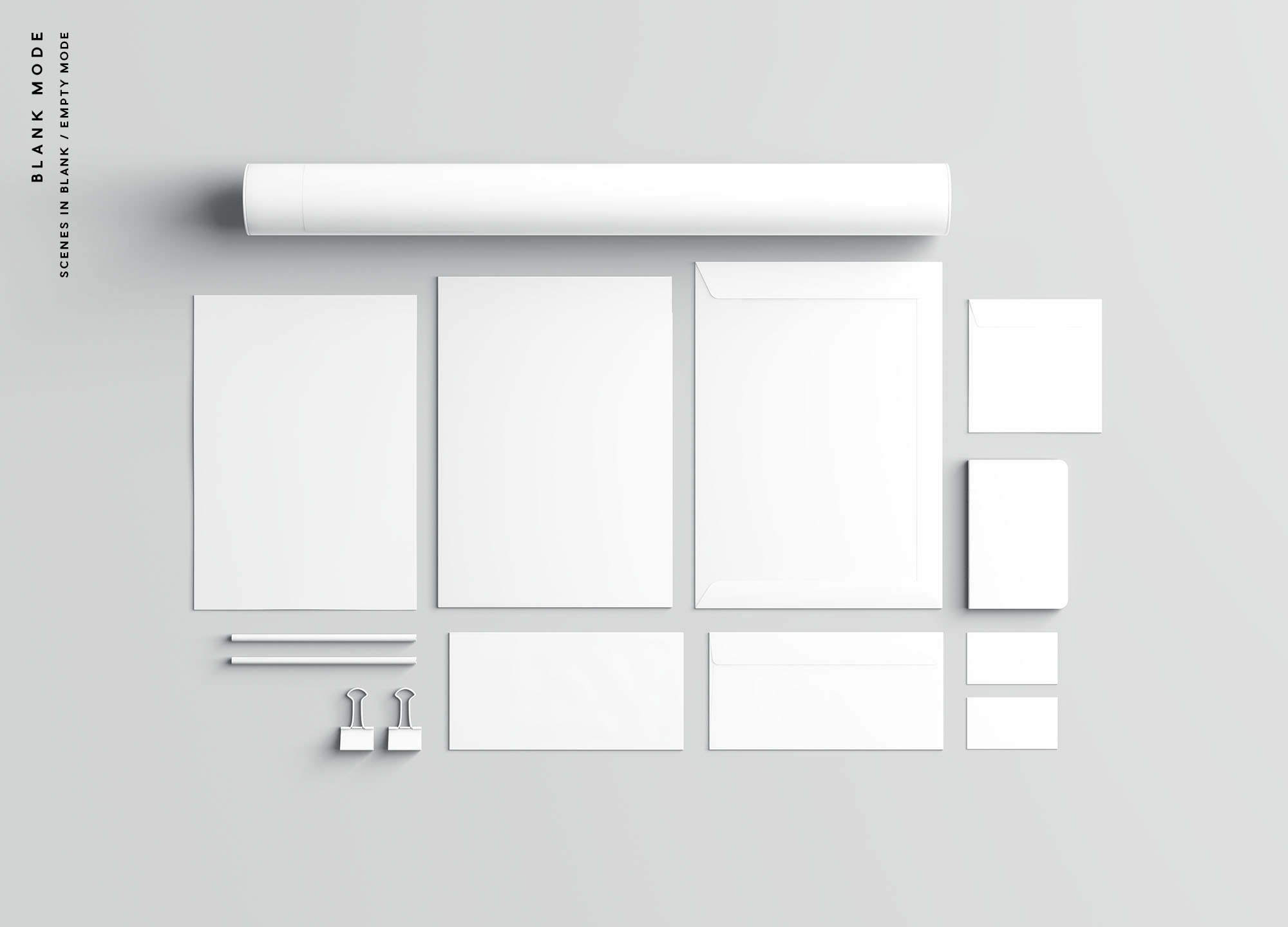 Branding Presentation Mockup Blank Mode