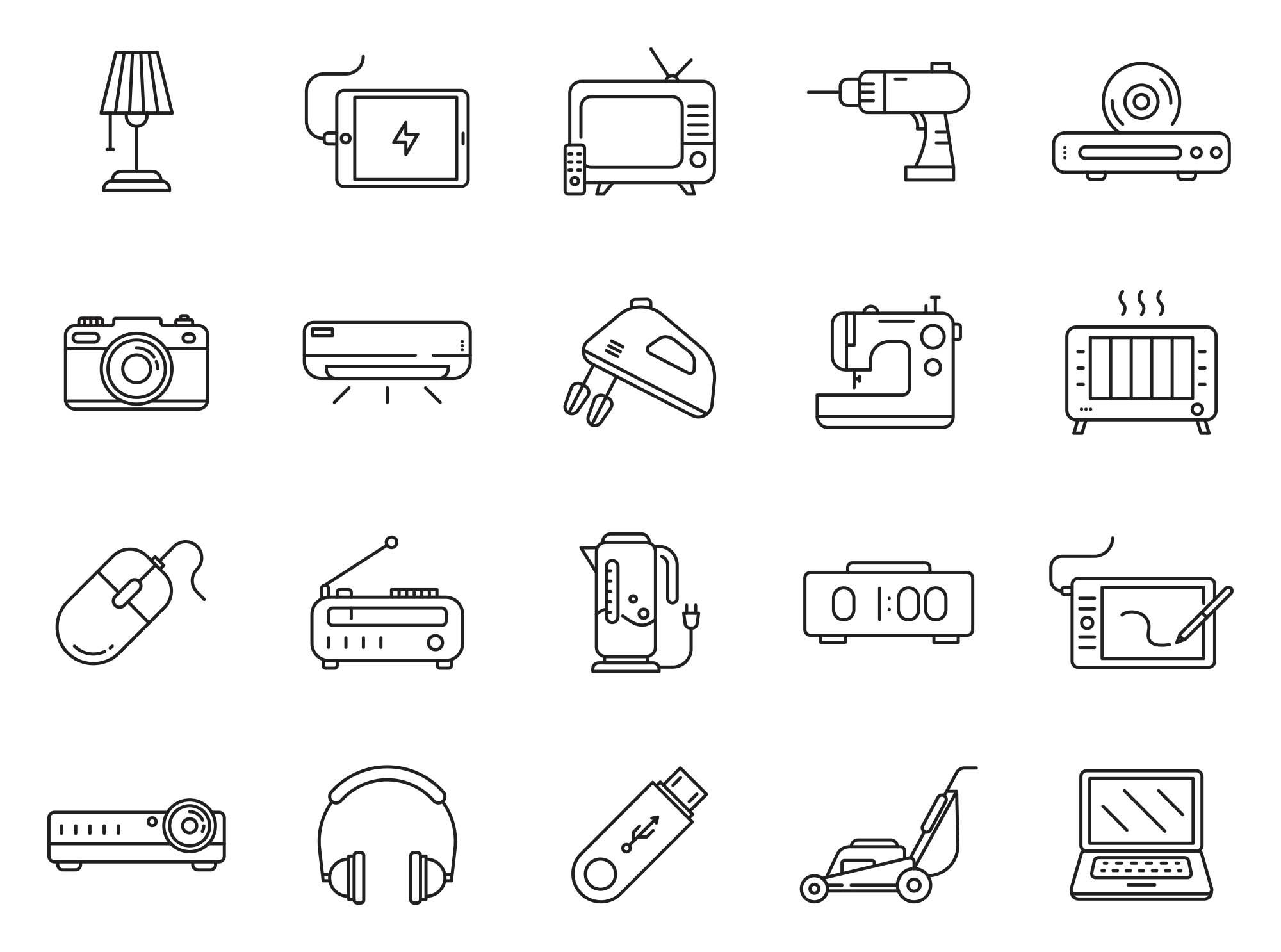 Electronics Vector Icons 3