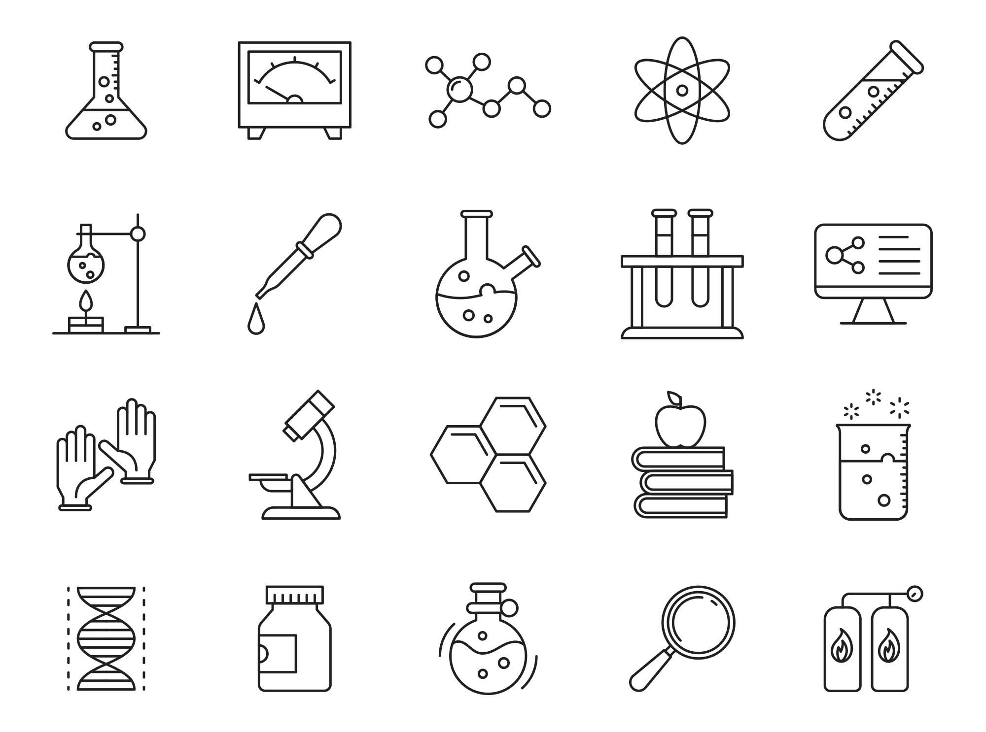 Laboratory Vector Icons