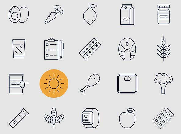 Nutrition Vector Icons