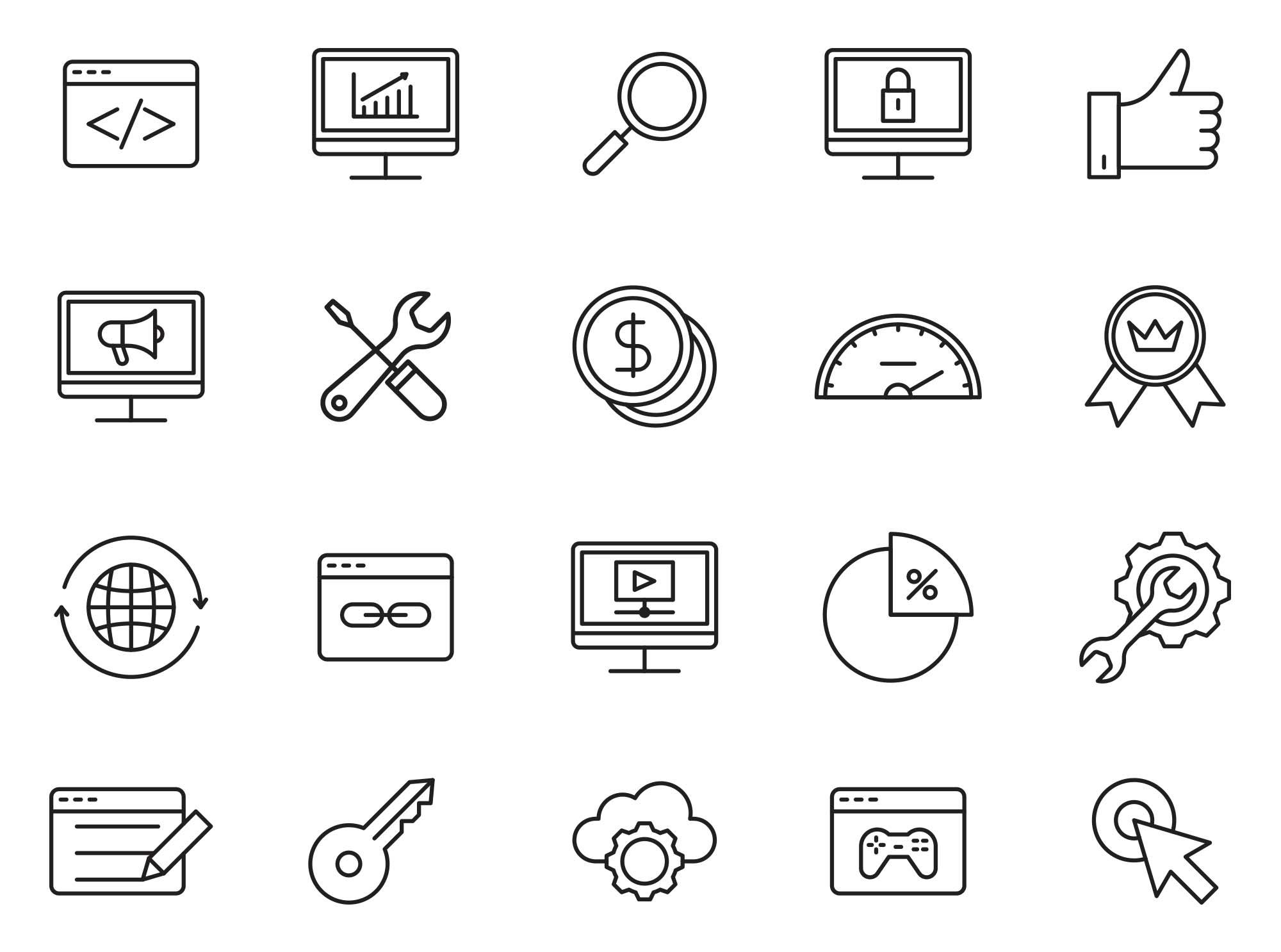 SEO Vector Icons