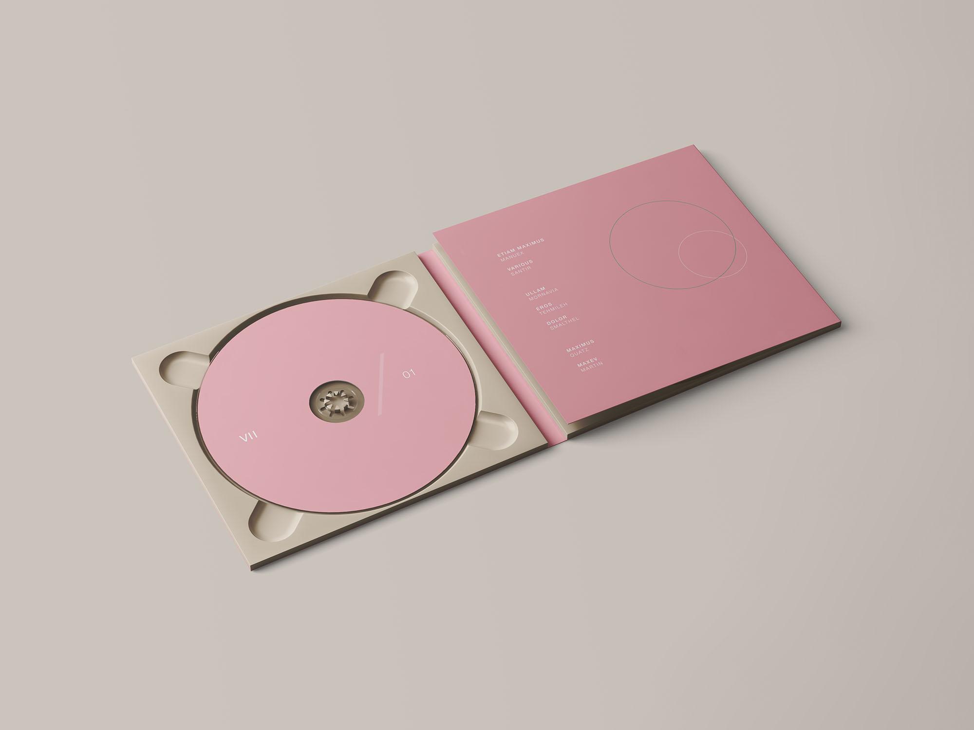 Digipak CD Mockup 1