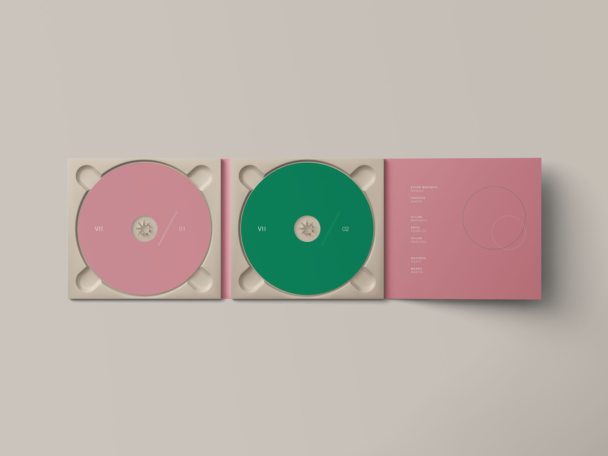 Digipak CD Mockup 2