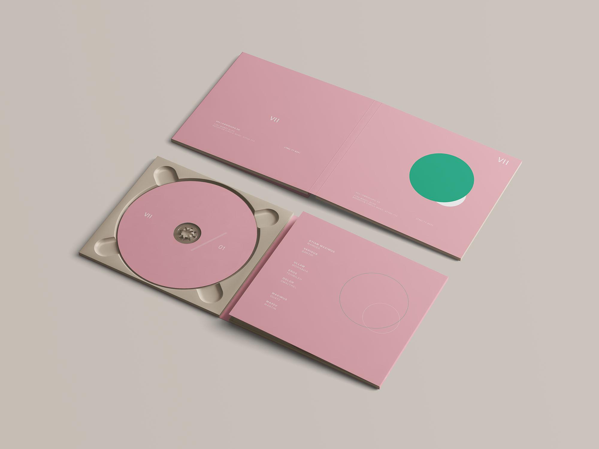 Digipak CD Mockup 3