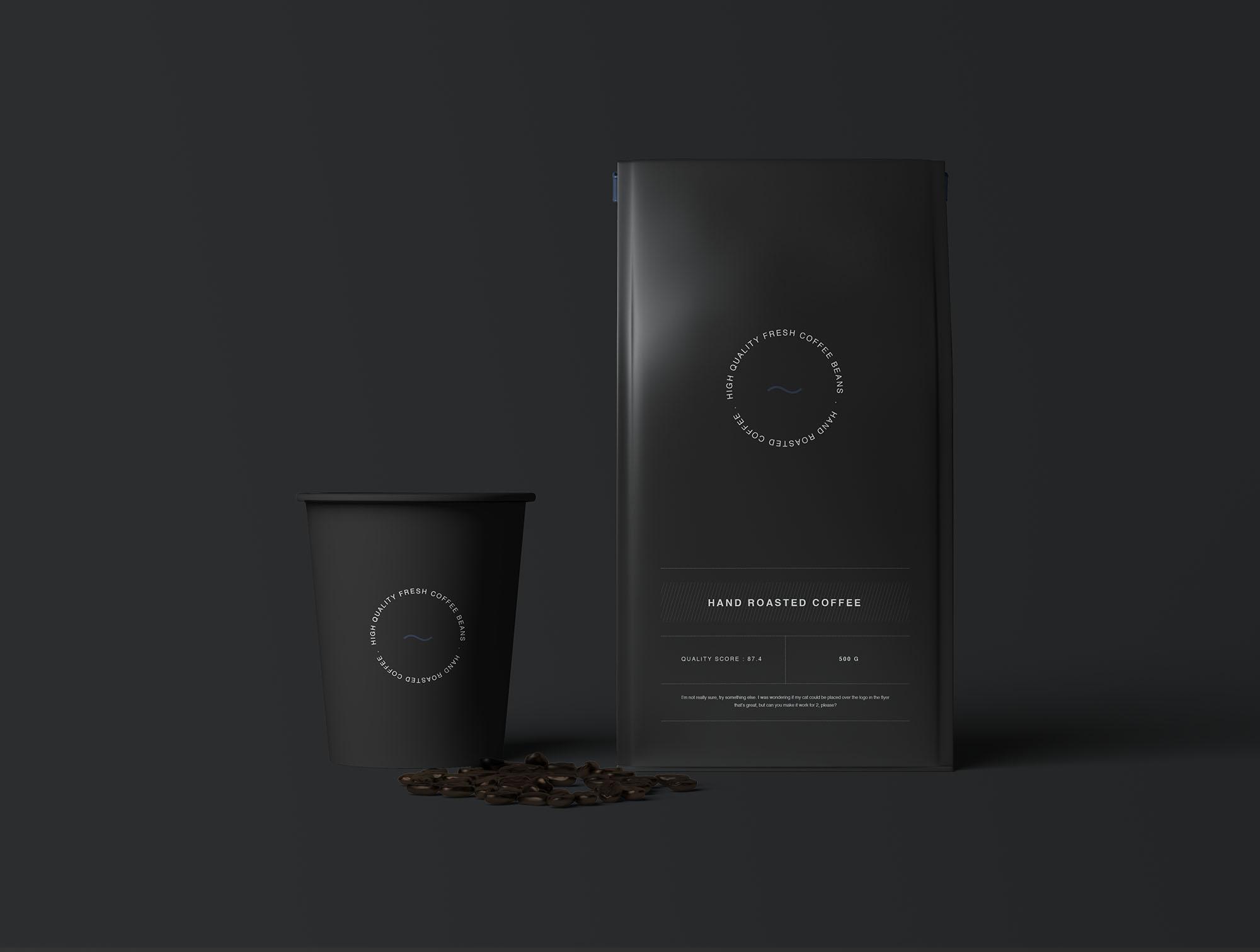Coffee Bag Mockup 5