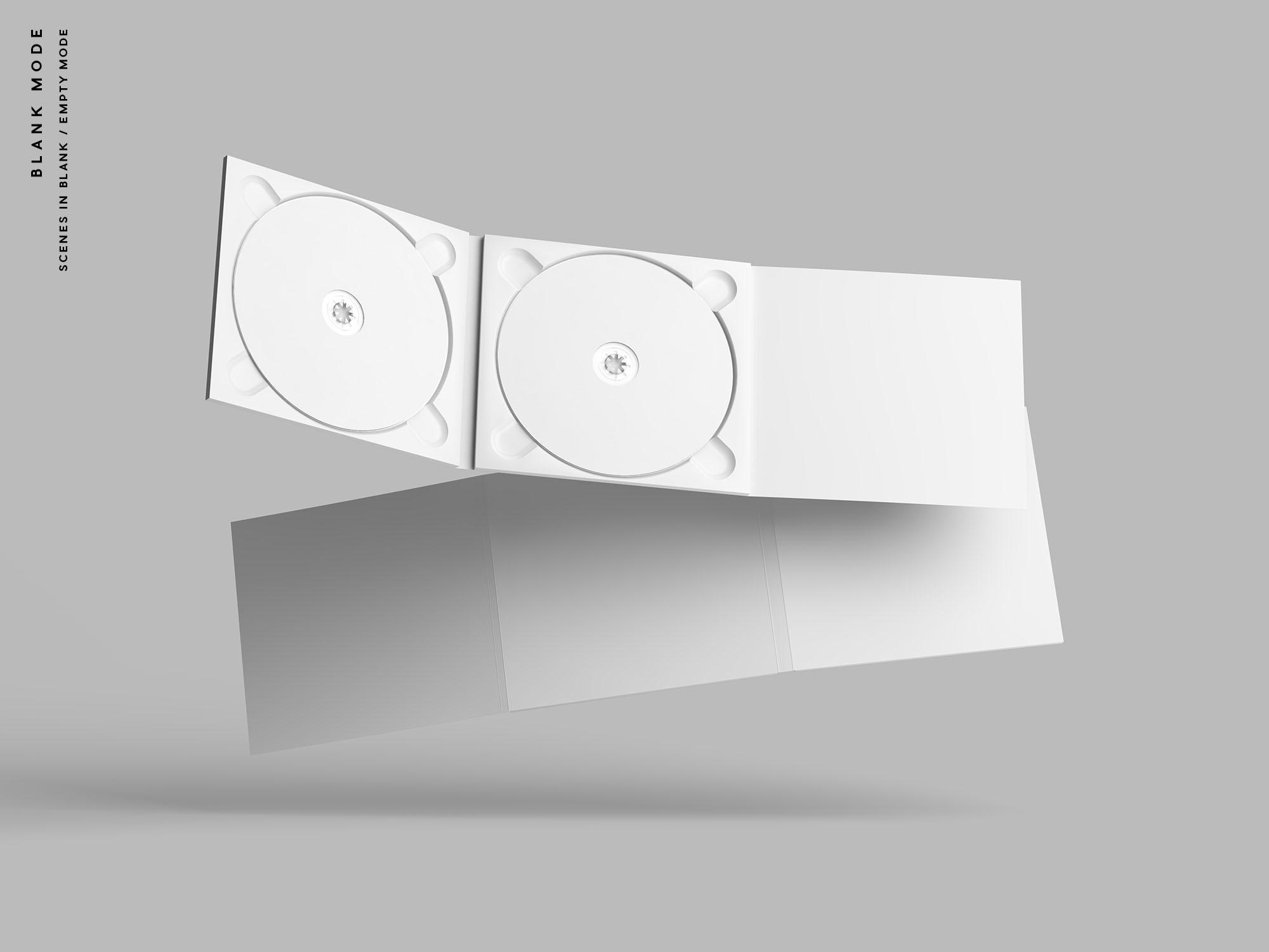 Digipak CD Mockup - Blank Mode