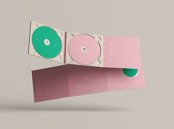 Digipak CD Mockup