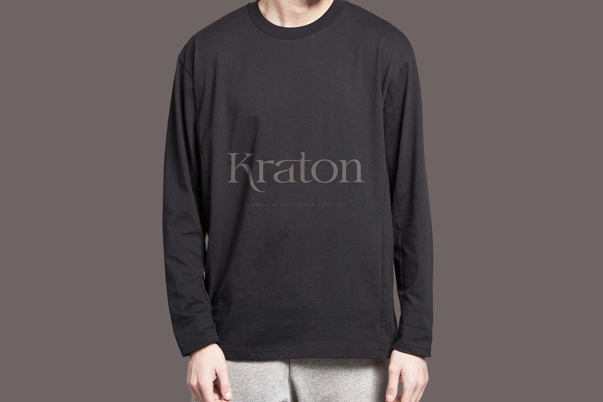 Kraton Serif Font 6