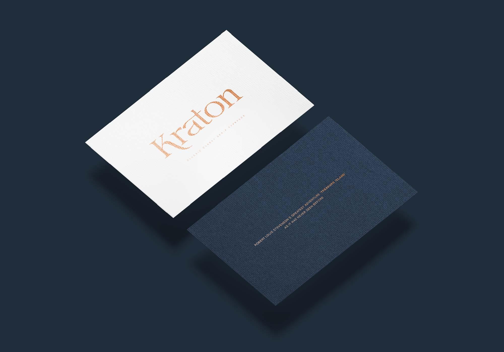 Kraton Serif Font 9