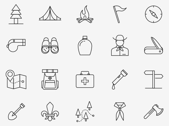 Scout Vector Icons