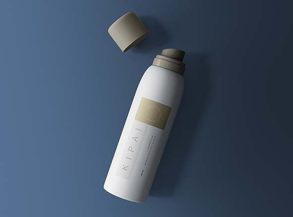 Cosmetic Spray Bottle Mockup