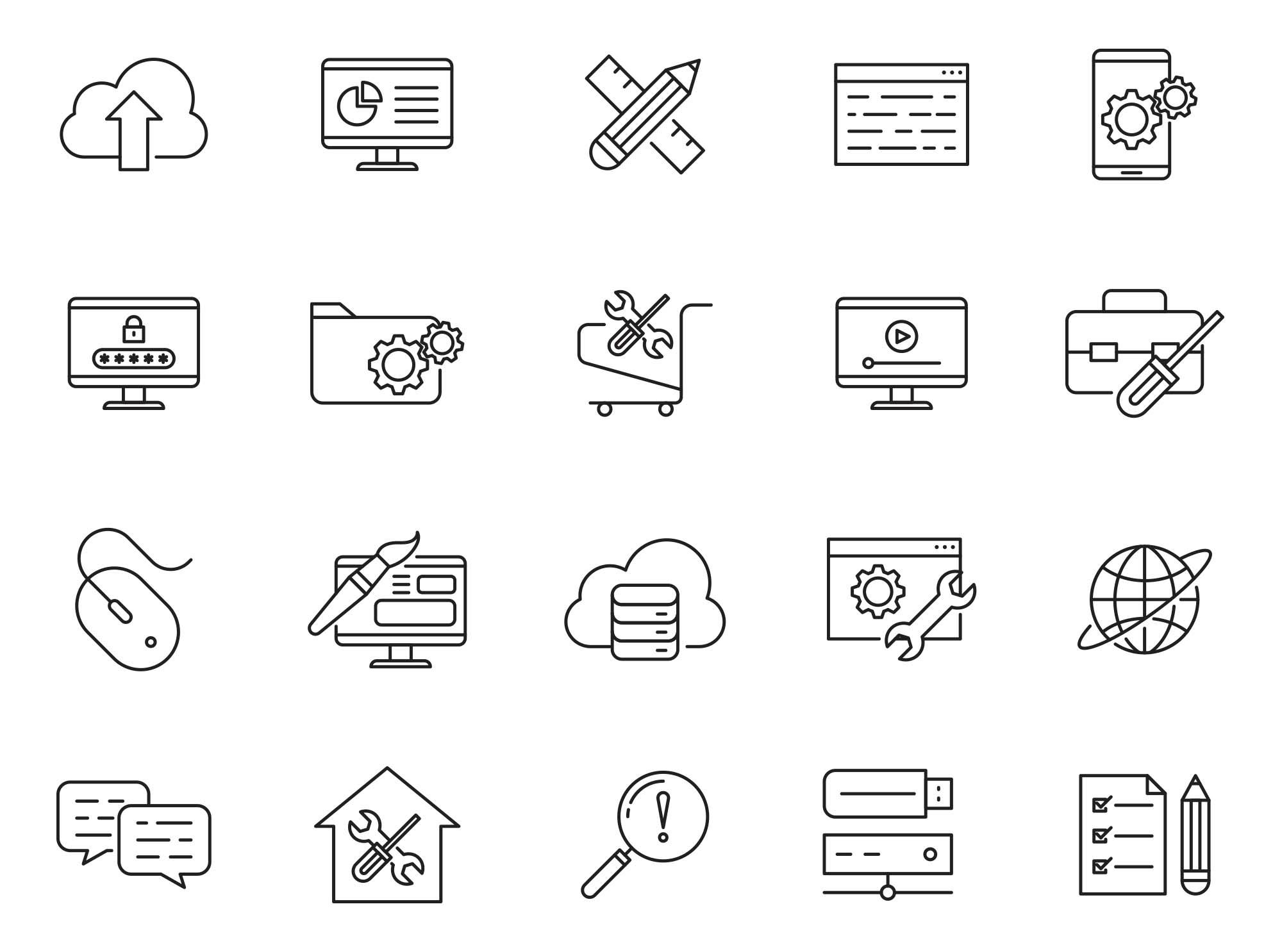Design & Development Icons Part 02