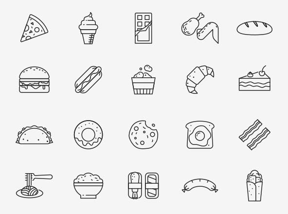 Food Vector Icons Part 04