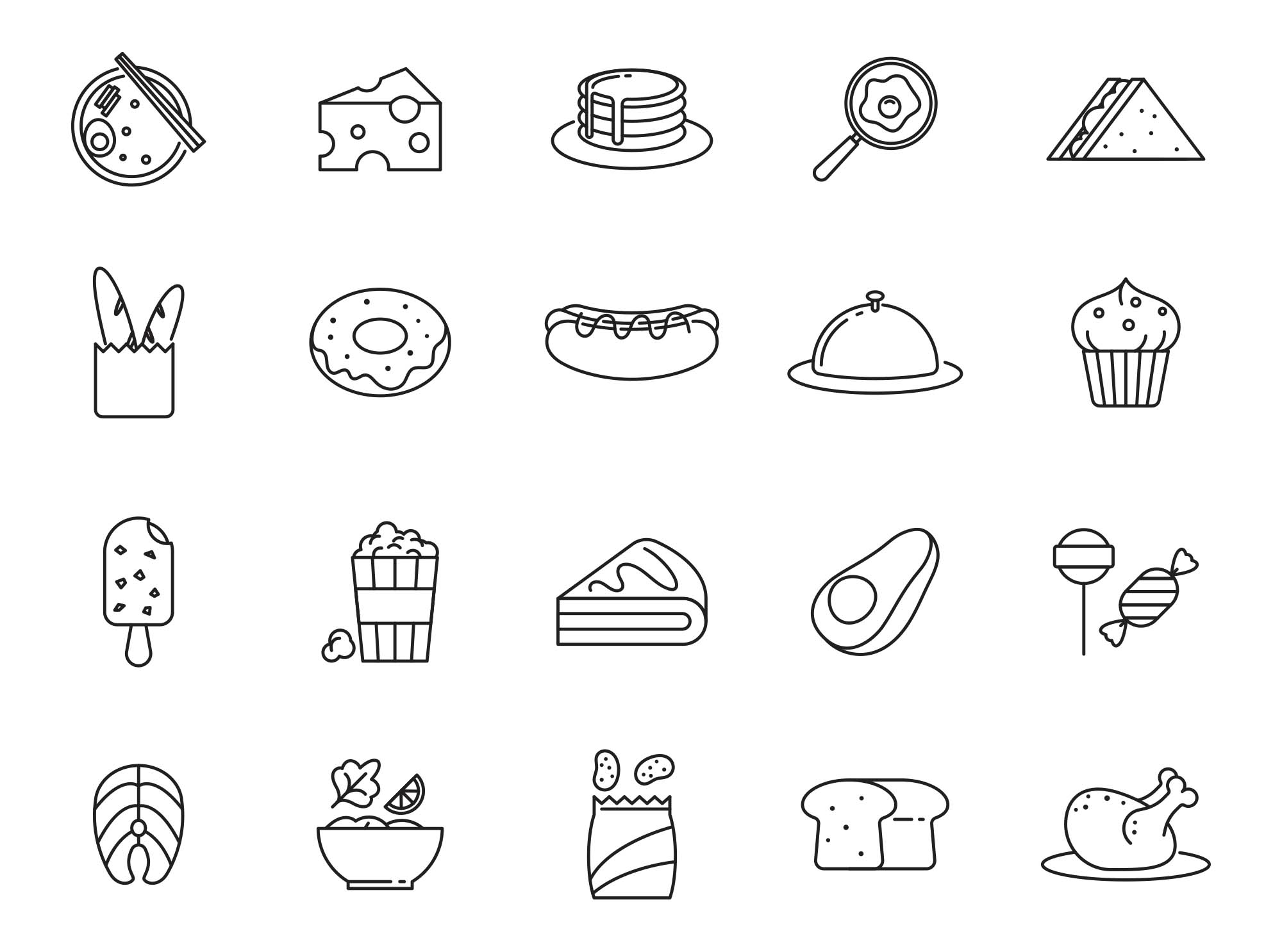 Food Vector Icons Part 05