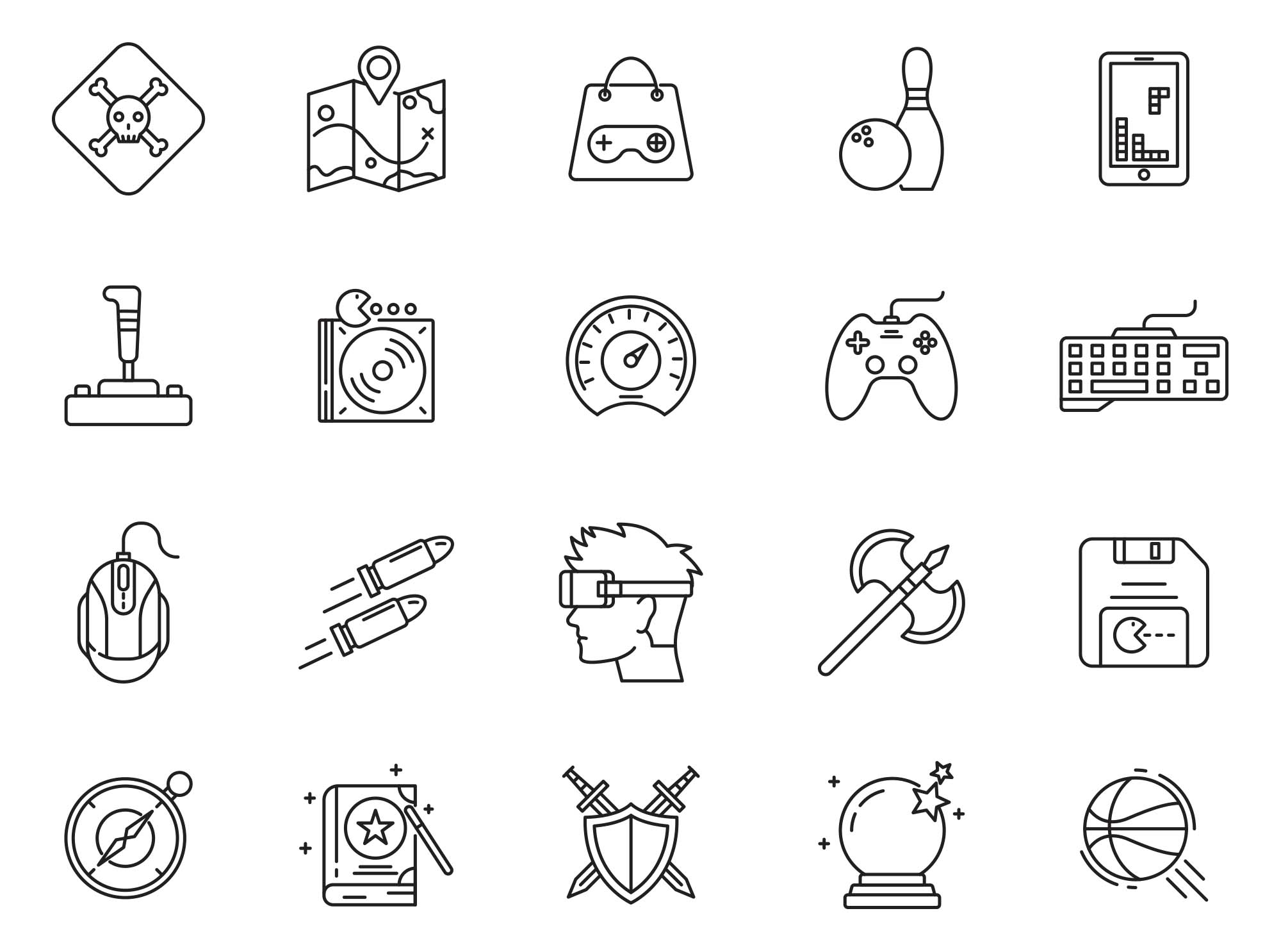 Gaming Vector Icons Part 04