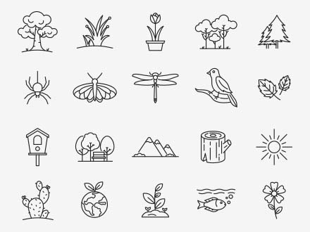 Nature Vector Icons Part 02