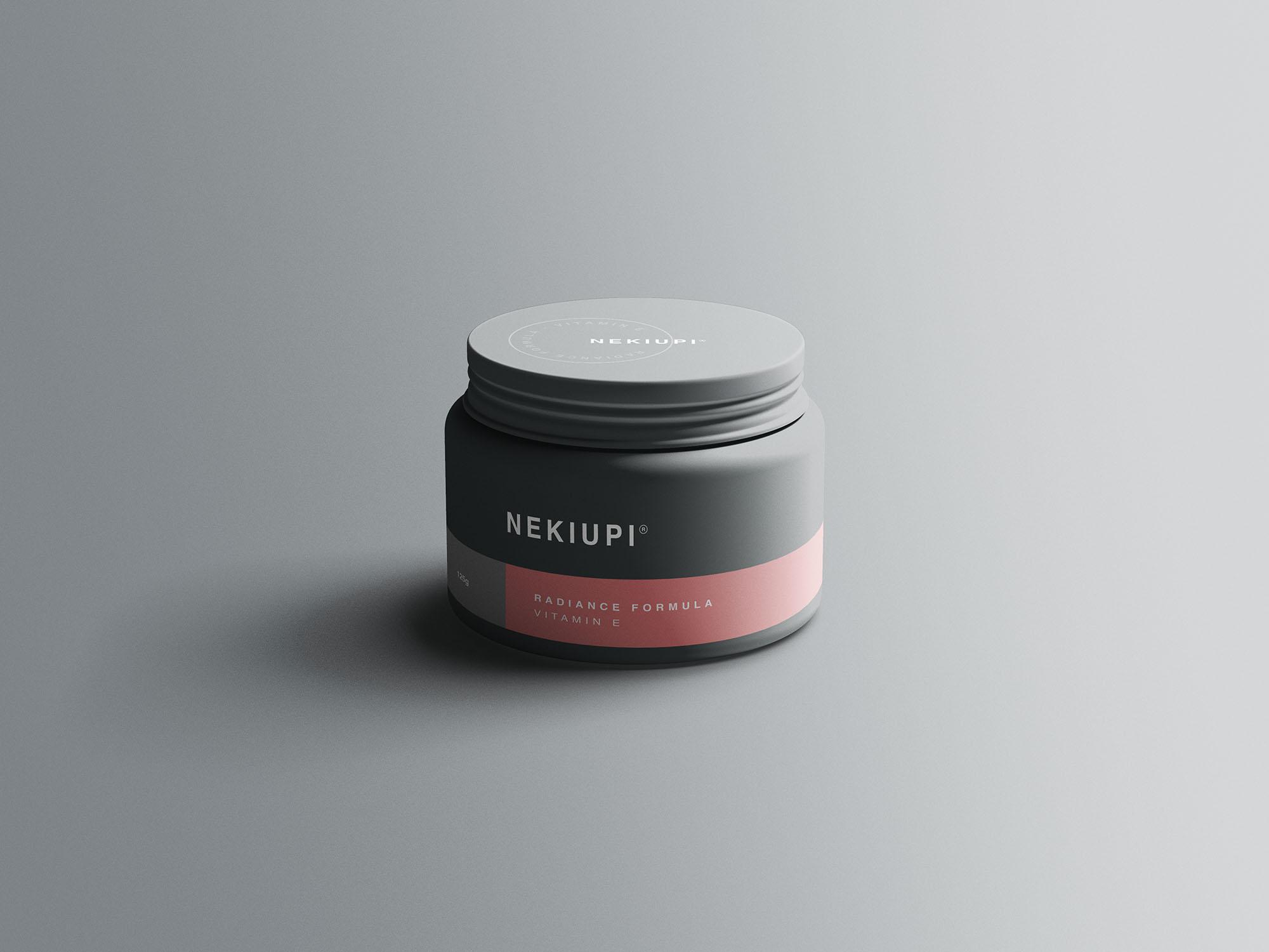 Cosmetic Jar Mockups 01