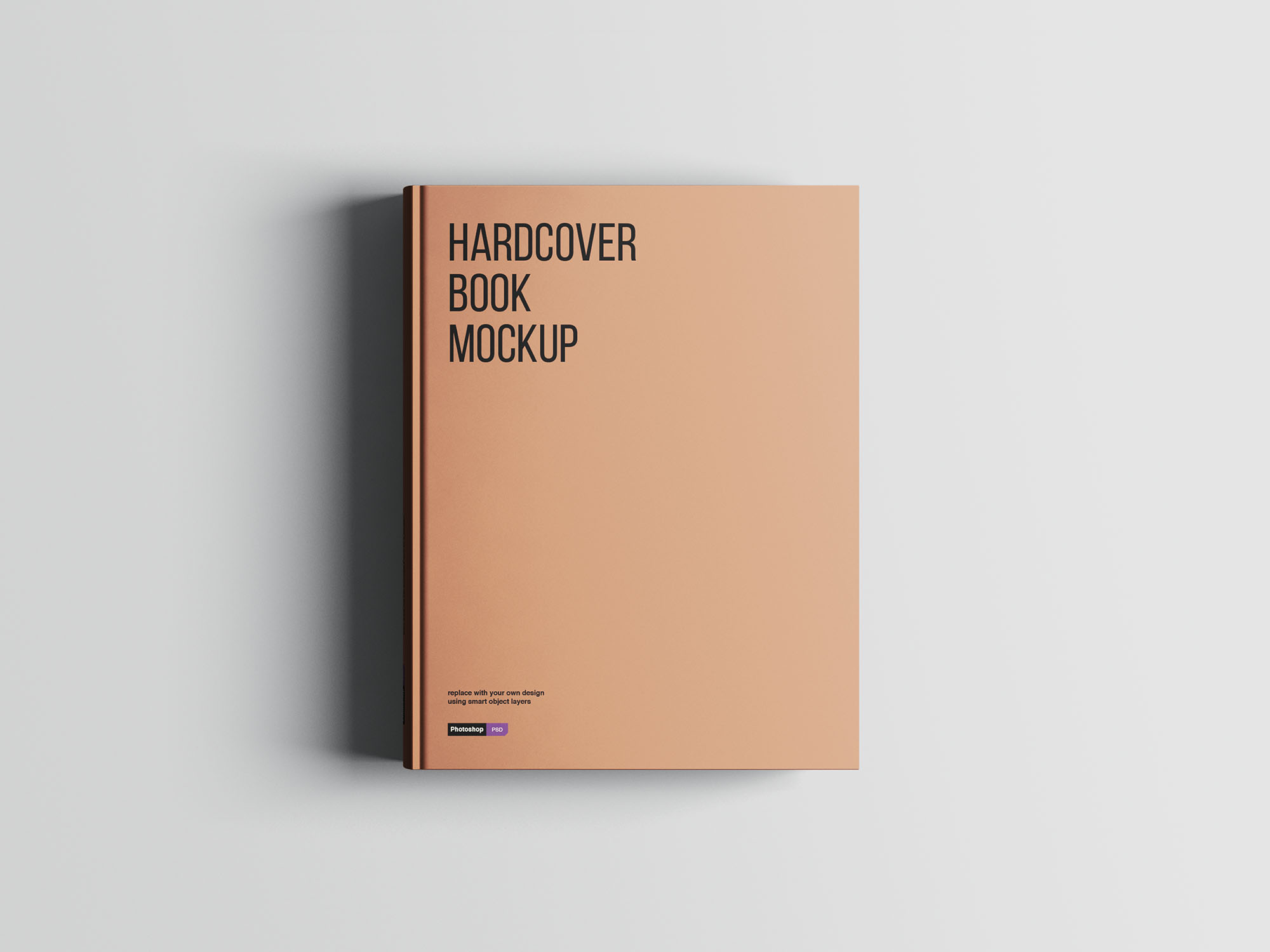 Hardcover A4 Book Mockup 01