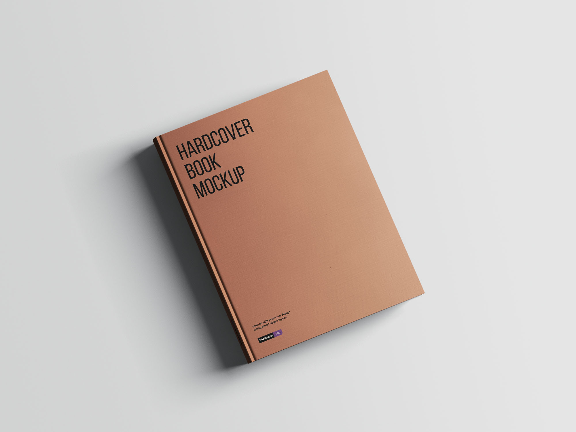 Hardcover A4 Book Mockup 02