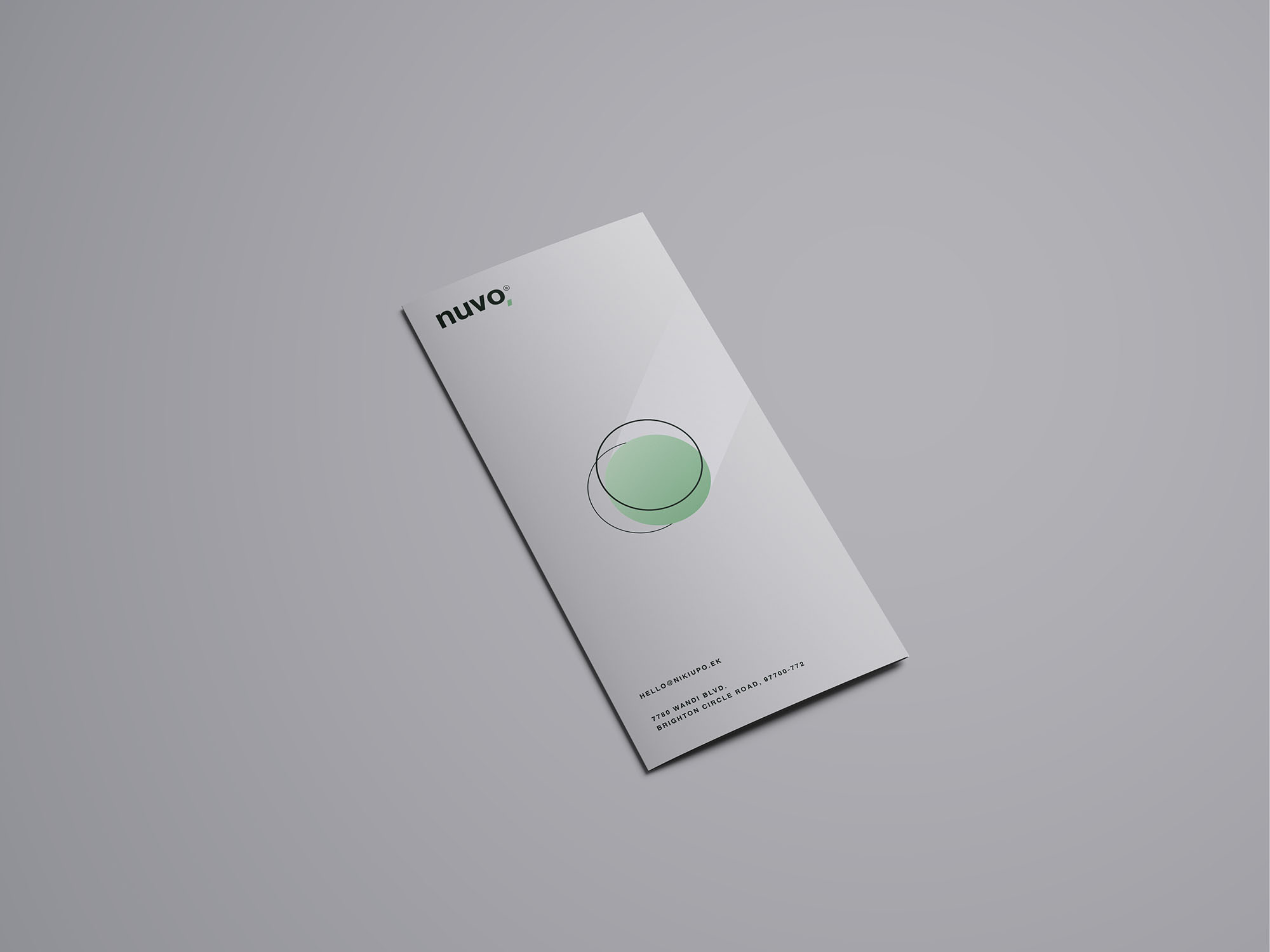 Trifold Brochure Mockup 02