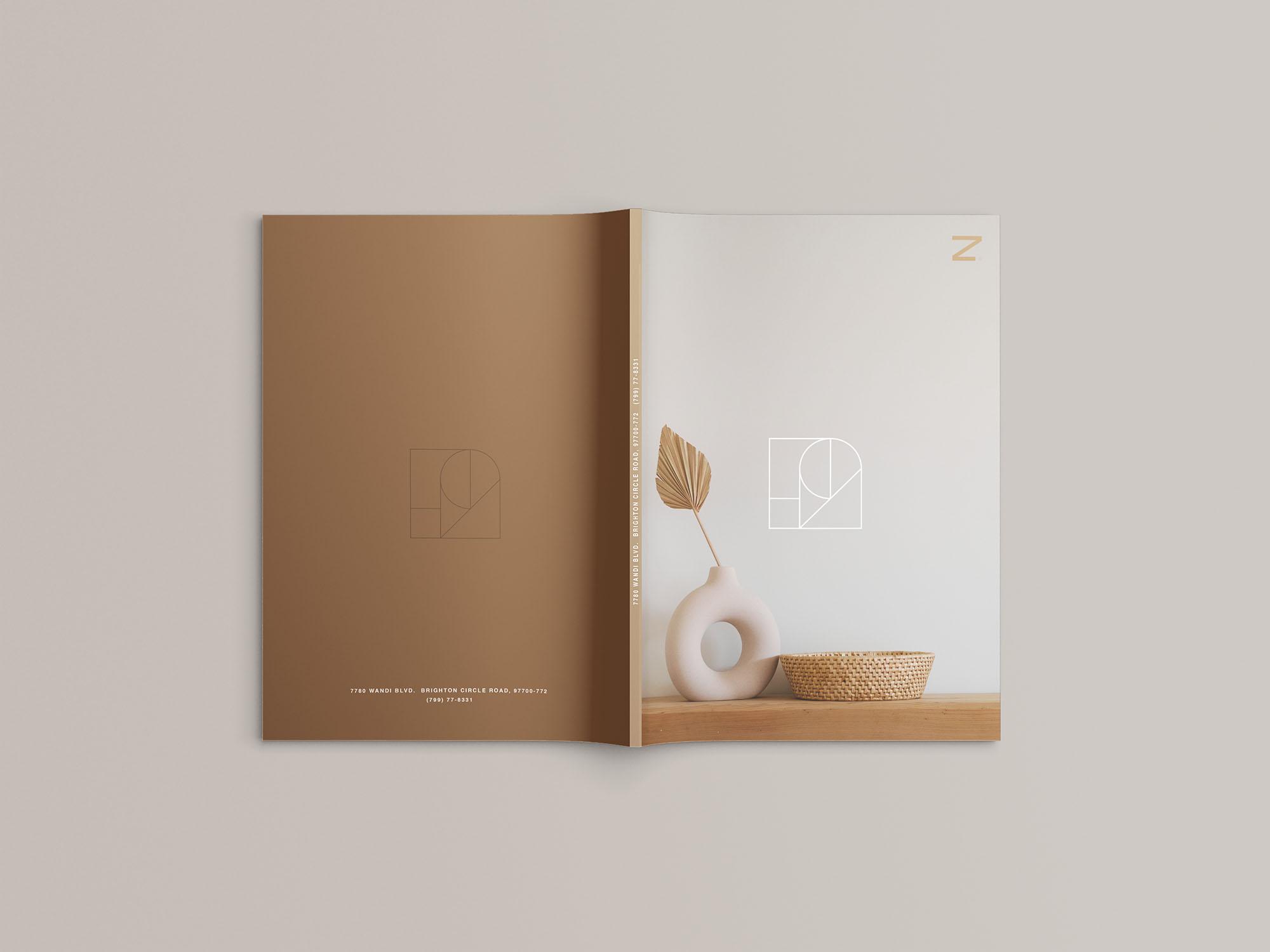 A4 Magazine Mockup 03