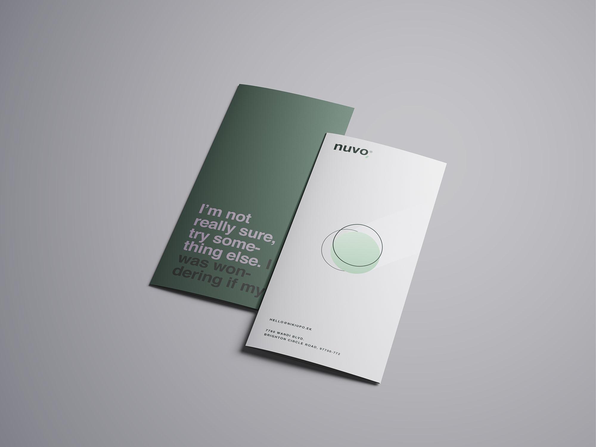 Trifold Brochure Mockup 03