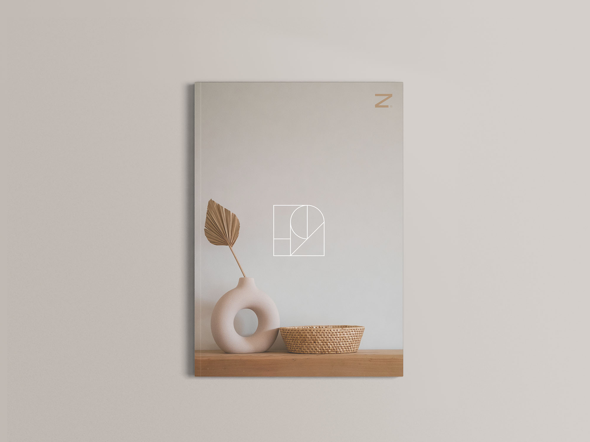 A4 Magazine Mockup 05