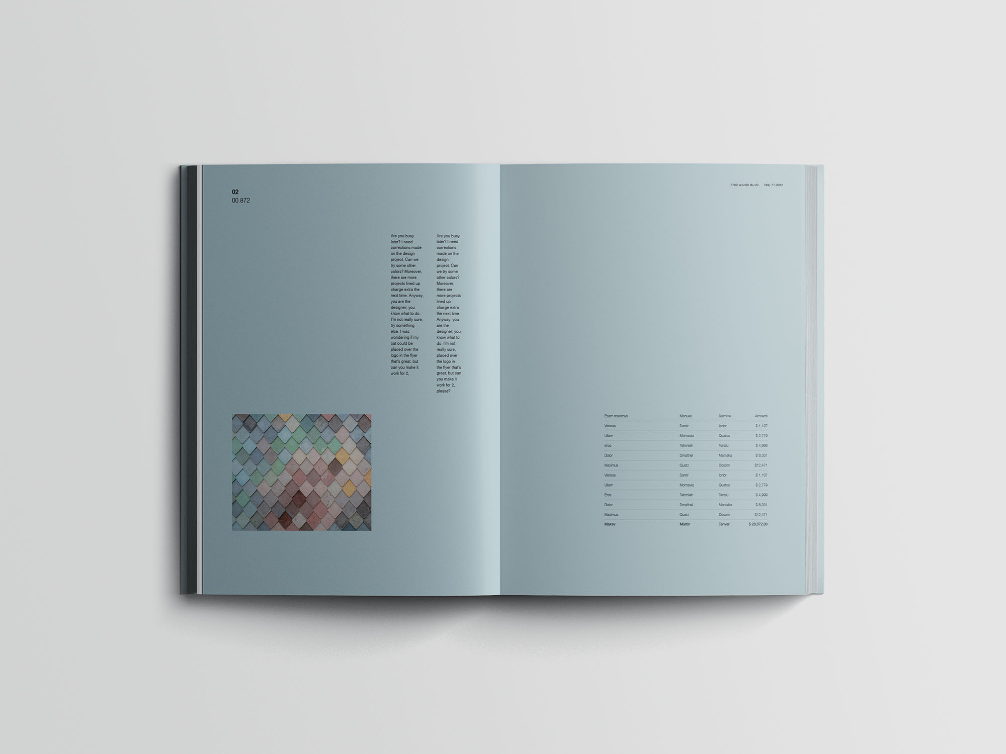 Hardcover A4 Book Mockup 07