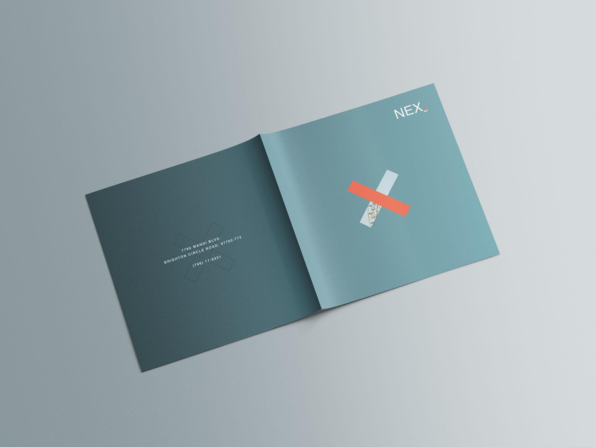Square Brochure Mockup 08