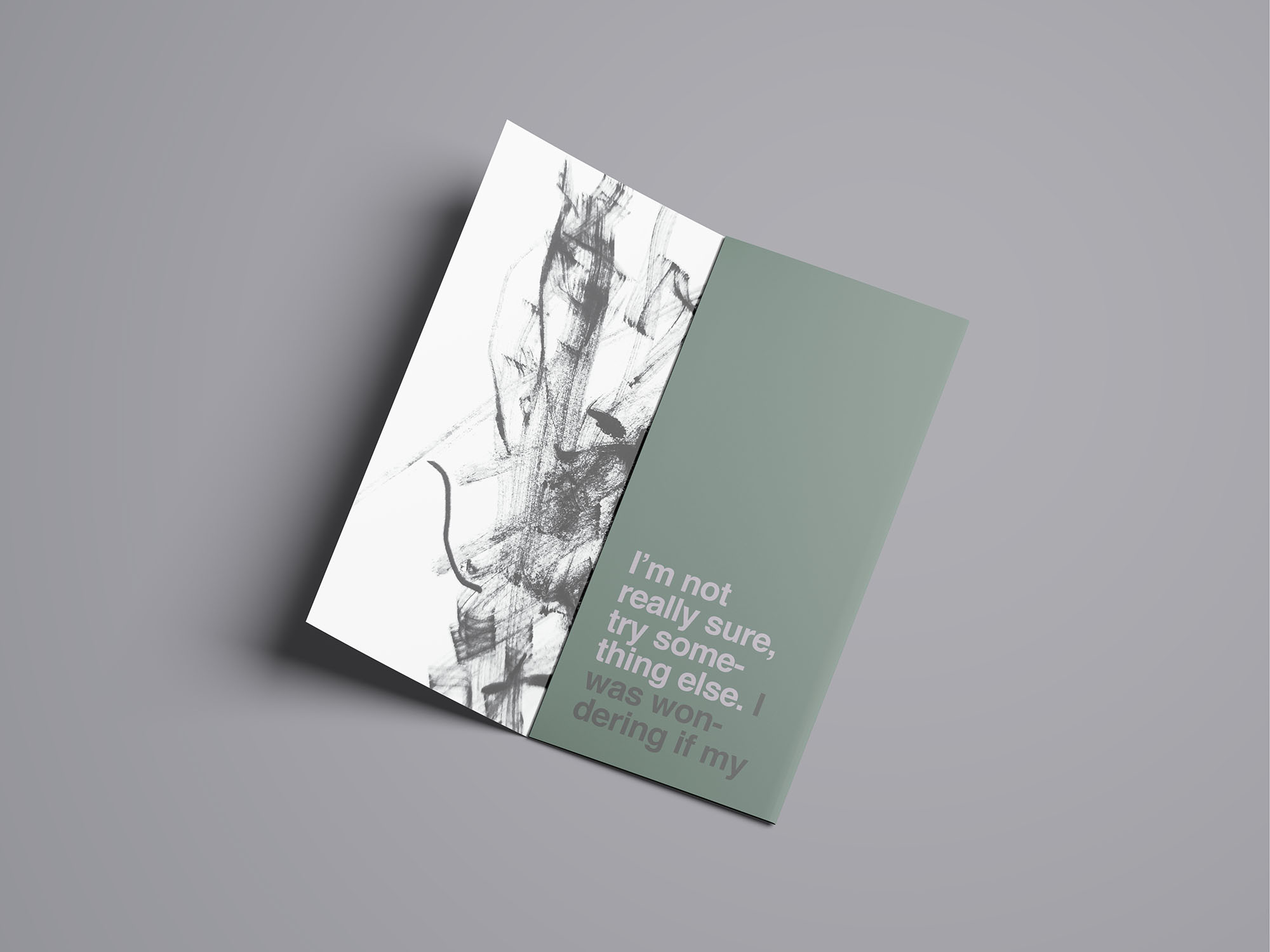 Trifold Brochure Mockup 10