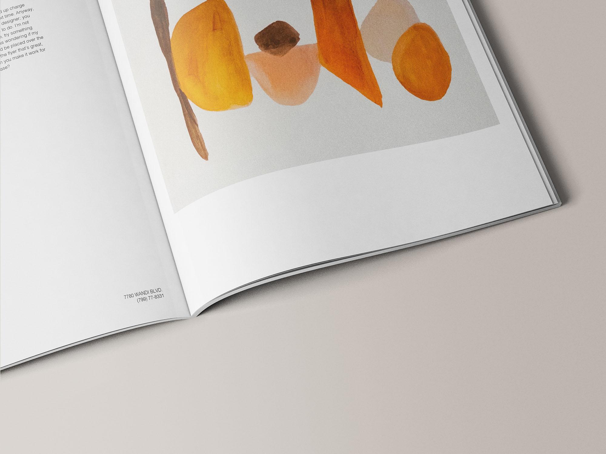 A4 Magazine Mockup 12