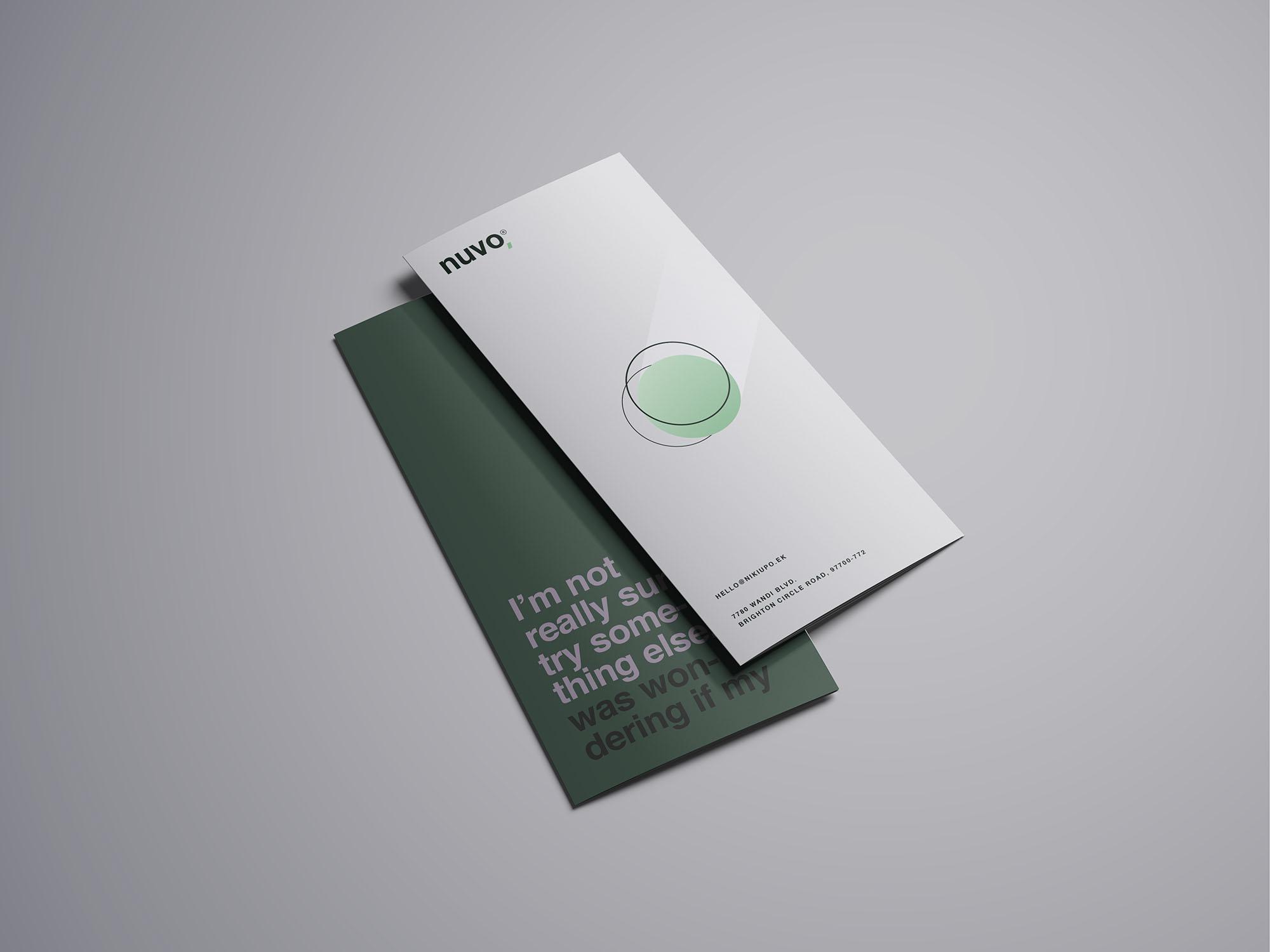 Trifold Brochure Mockup 15