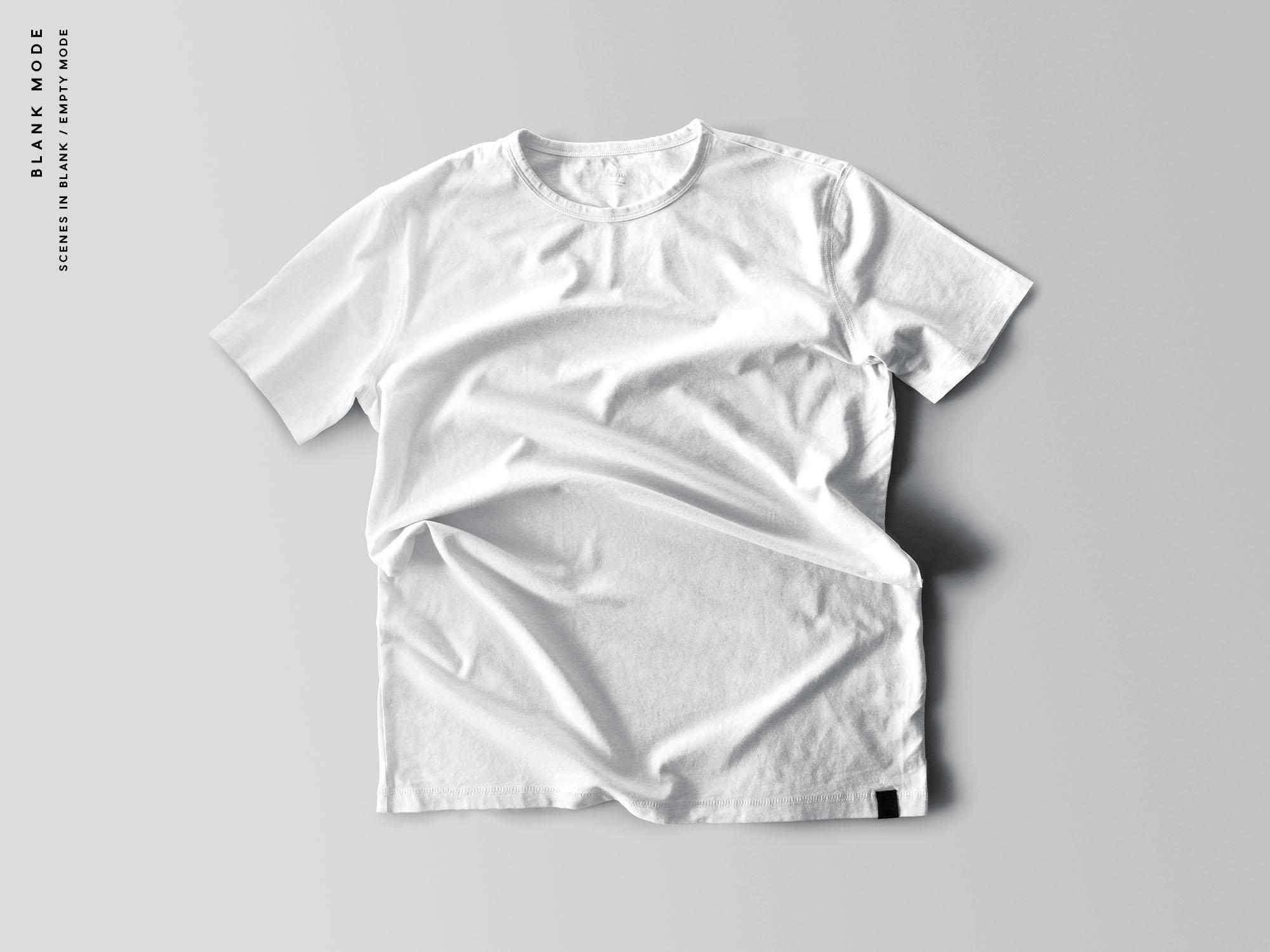 T-Shirt Mockups Blank Mode