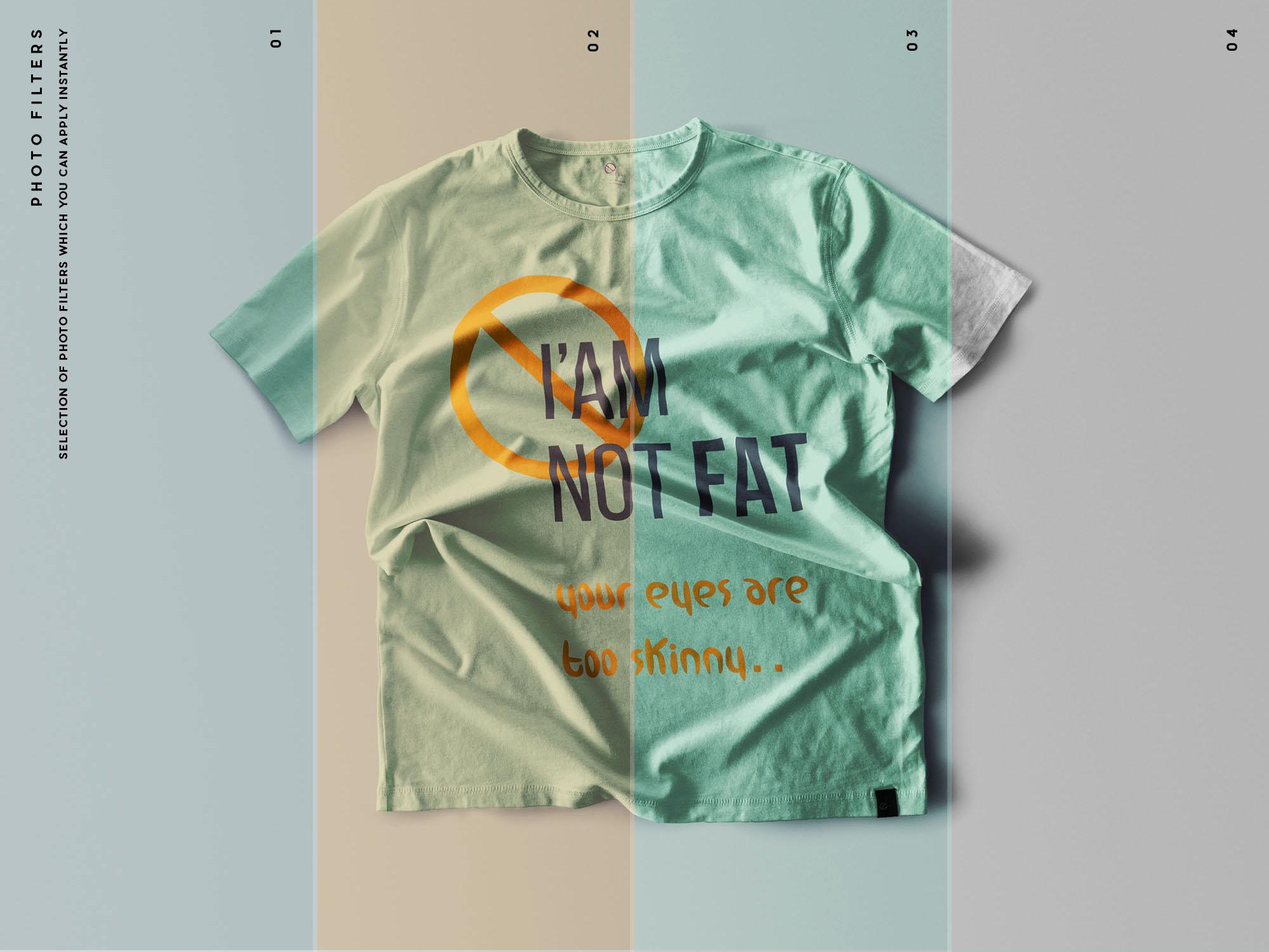 T-Shirt Mockups Filters